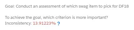 Inconsistency Rating Screenshot
