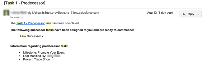 Resource alerts solution with free project management Salesforce app, Milestones PM+ on the AppExchange