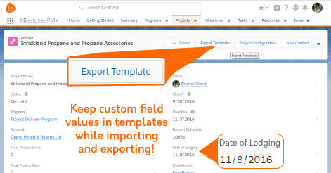 Advanced Project Templates