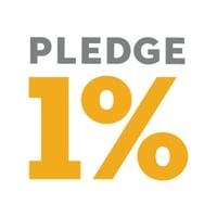 Pledge 1% (one percent)