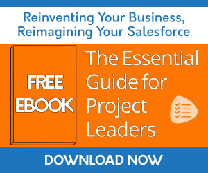 Free Salesforce business guides to help admins/developers, project managers, sales managers, and decision makers. Download the free PDF series now: Reinventing Your Business, Reimagining Your Salesforce®.