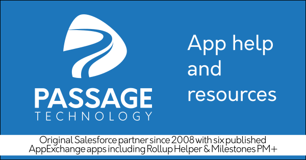 Salesforce service partner and AppExchange partner Passage Technology