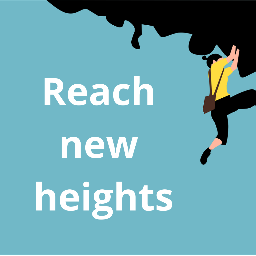 Reaching new heights image