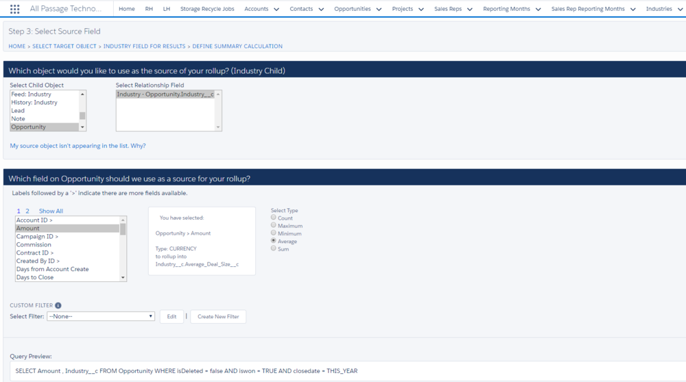 Rollup Helper's User Interface makes creating rollups in Salesforce a breeze.