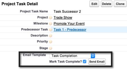 Milestone And Task Communication Templates