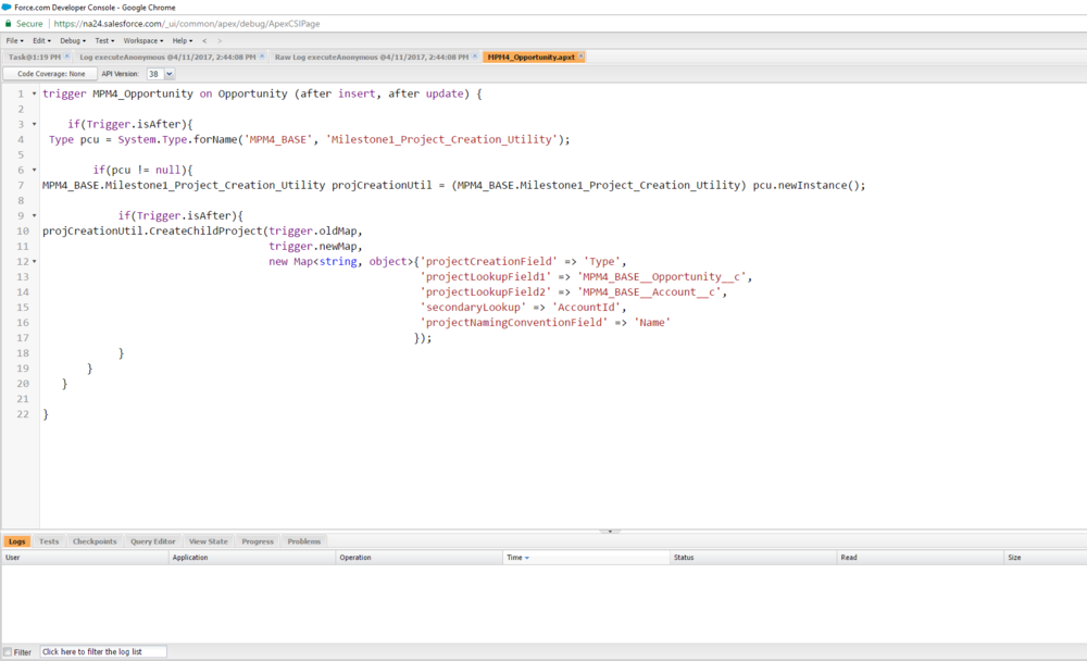 Create a Project Automatically from Any Object in Salesforce.