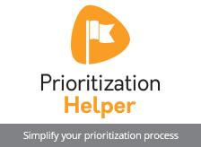 Salesforce scoring app Prioritization Helper of Helper Suite