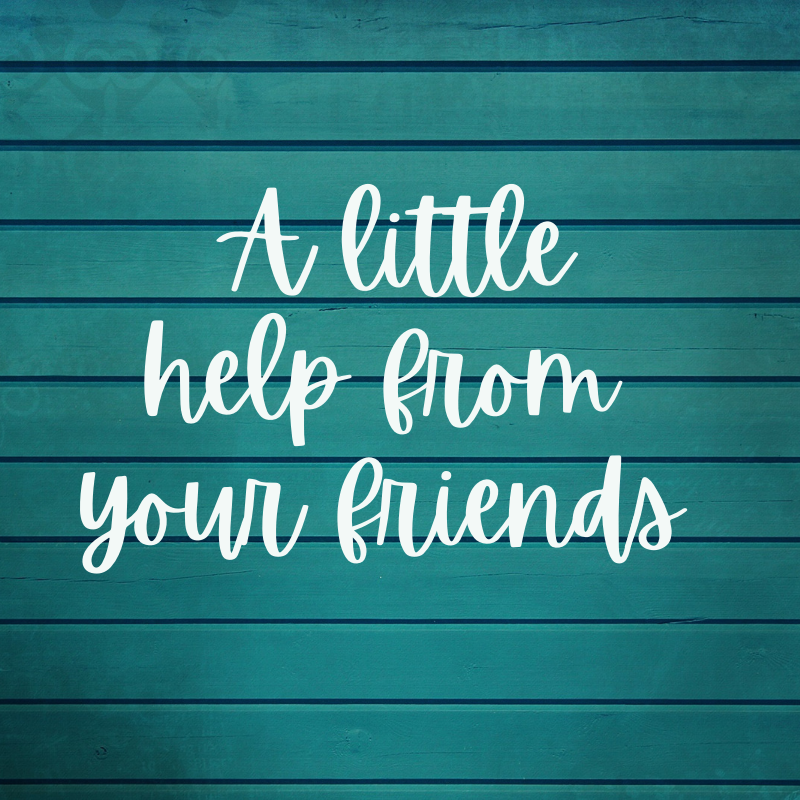 A little help from your friends image